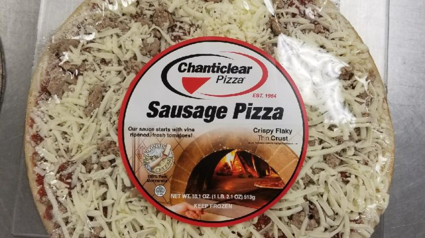 Chanticlear Sausage Pizza